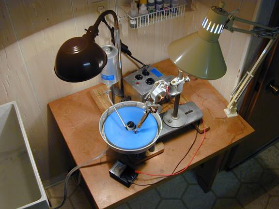 Sapphire Faceting Machine